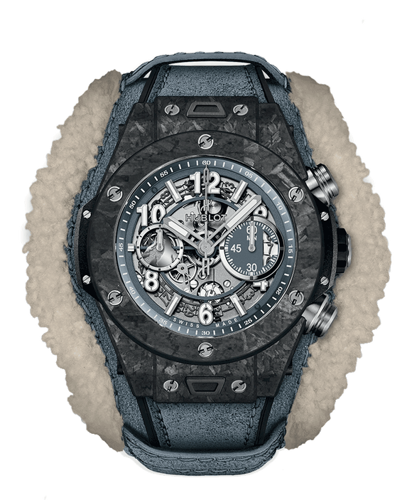 Hublot Big Bang Unico Frosted Carbon