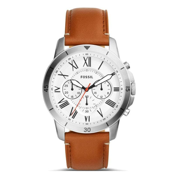 leather watches fossil