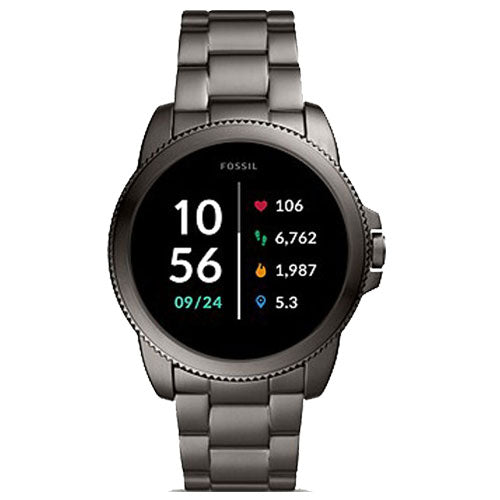 Fossil Gen 5E Smartwatch Smoke Stainless Steel