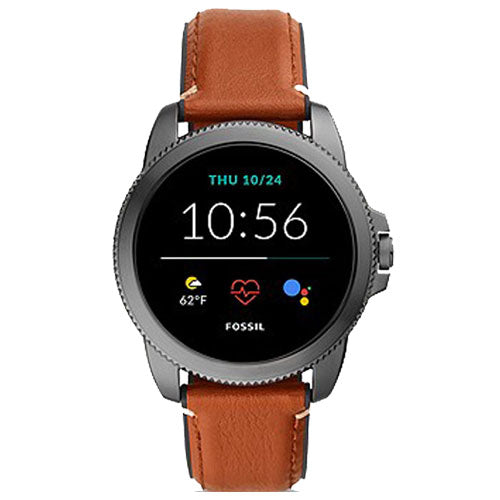 Fossil Gen 5E Smartwatch Brown Leather