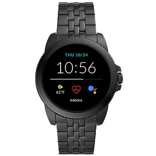 Fossil Gen 5E Smartwatch Black Stainless Steel