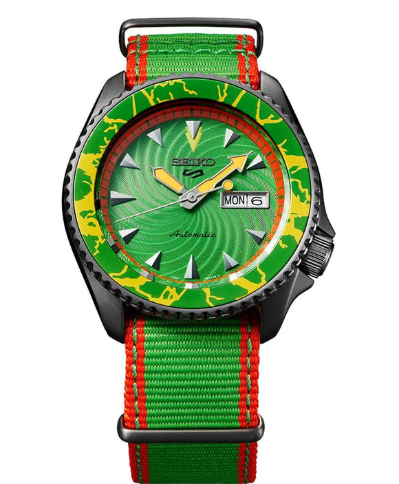 Seiko 5 Sports Street Fighter 'BLANKA'