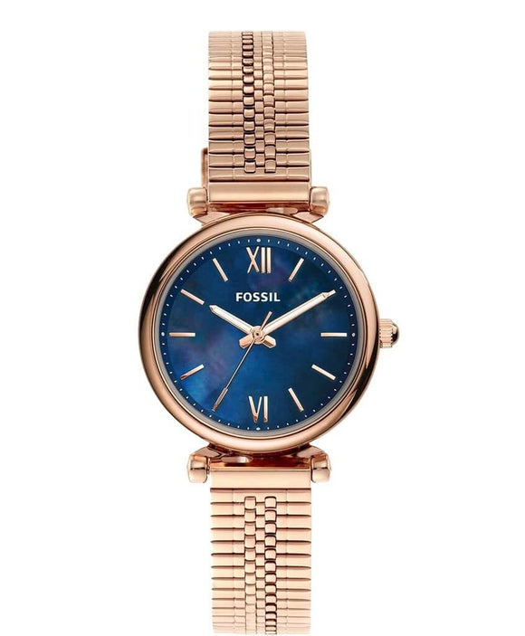 fossil watches gold