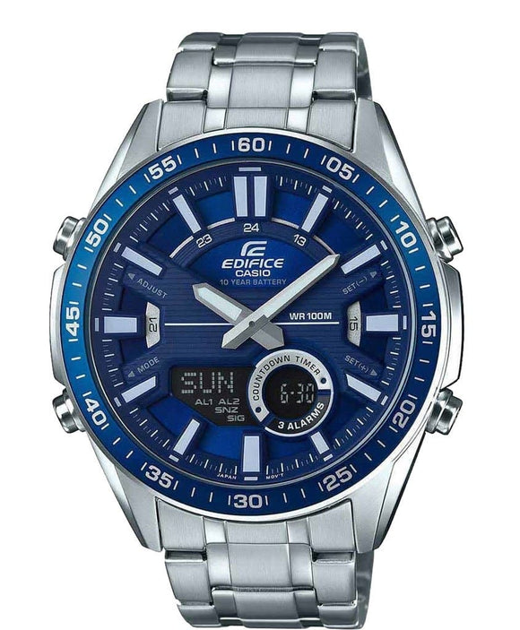 casio blue dial watches