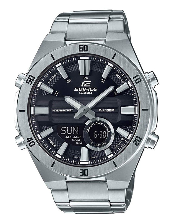 casio stainless steel watch