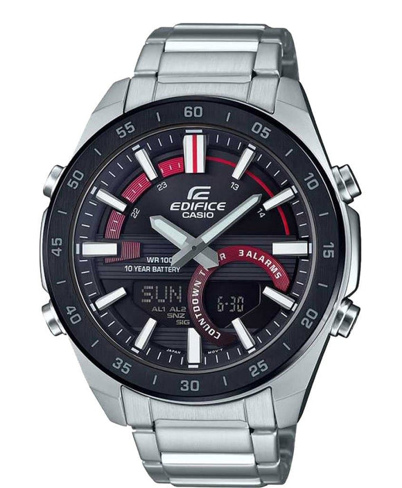 casio edifice chronograph wr100m