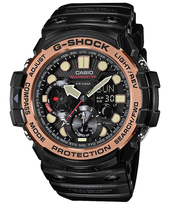 g shock black resin