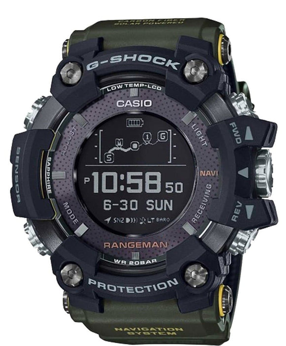casio rangeman black