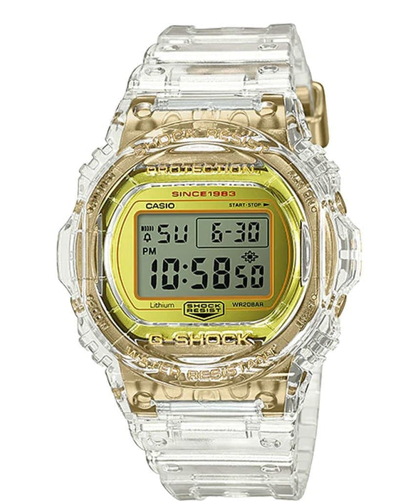 g shock yellow