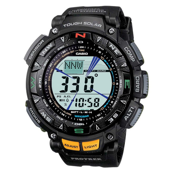 casio protrek solar watches