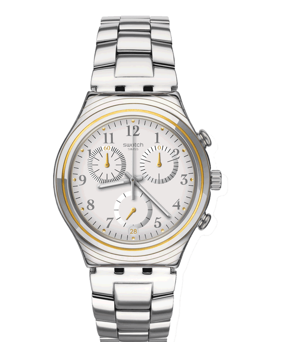 Swatch Irony Silvernow