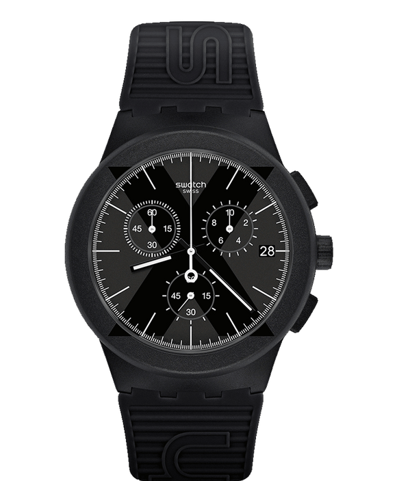Swatch Originals X-District Black