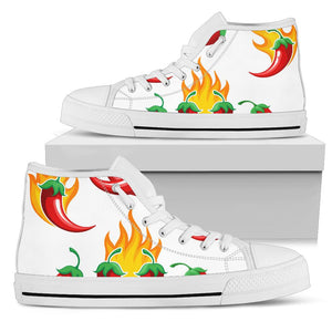 Flaming High top Canvas