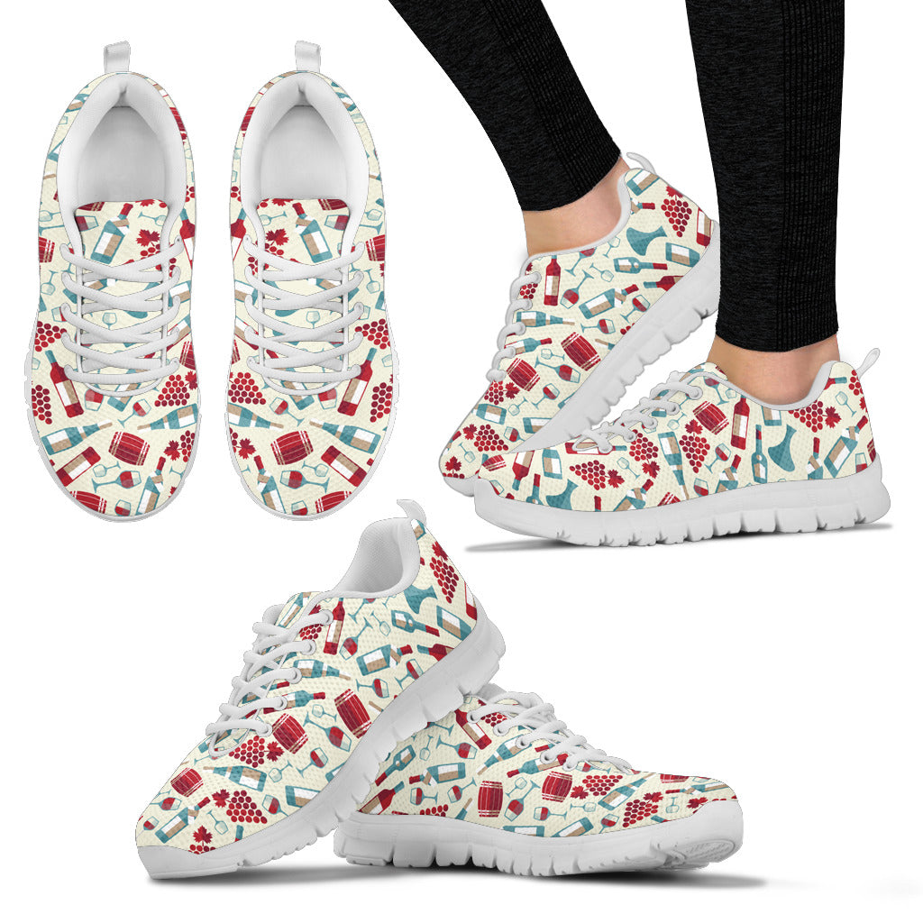 Wine Lovers Women's Sneakers