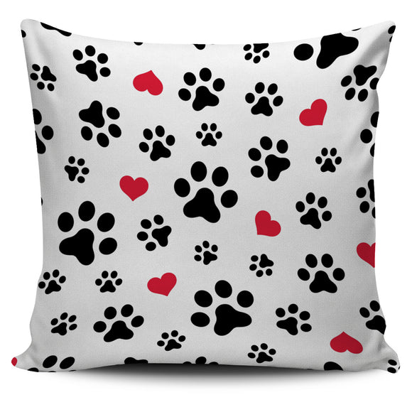 Love Paw Pillow covers