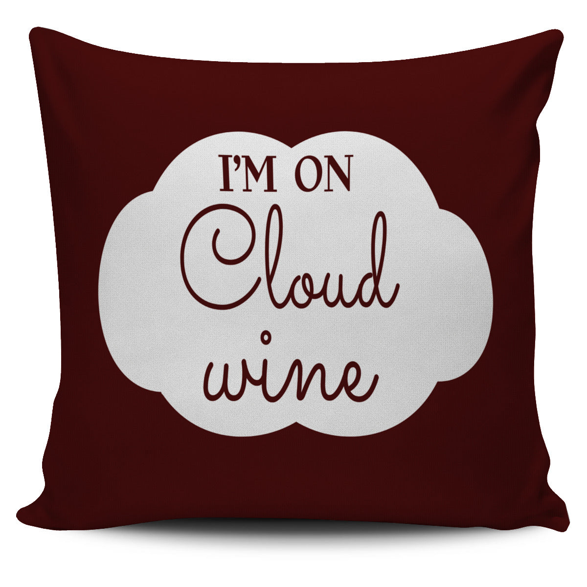 NP Cloud Wine Pillowcase