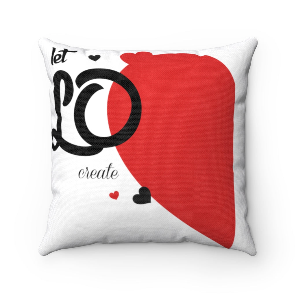 Love Miracle Square Pillow