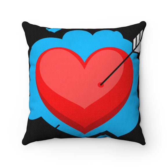 Cupid's Arrow Square Pillow