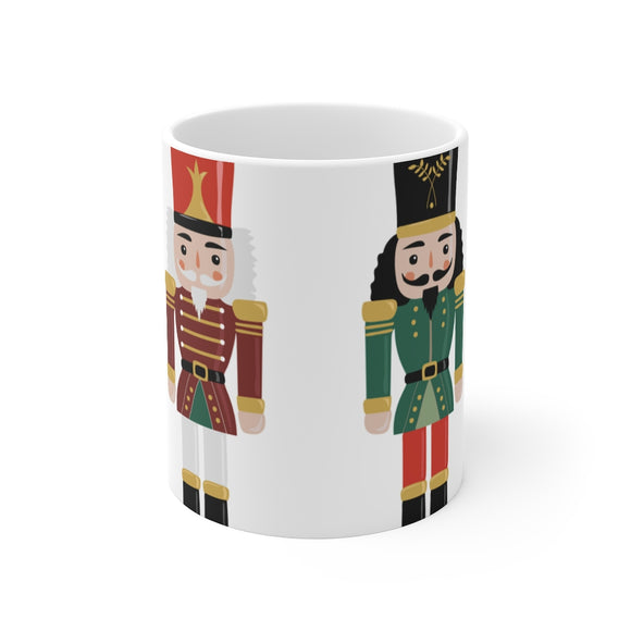 Festive Nut Crackers Mug
