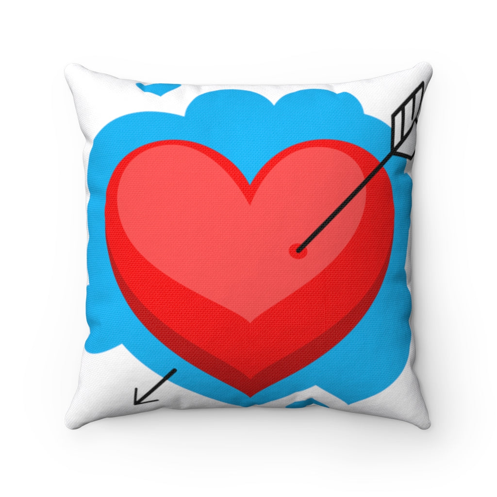 Cupids Game Square Pillow