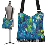 Abstract Oil Paintings P3 - Crossbody Boho Bag