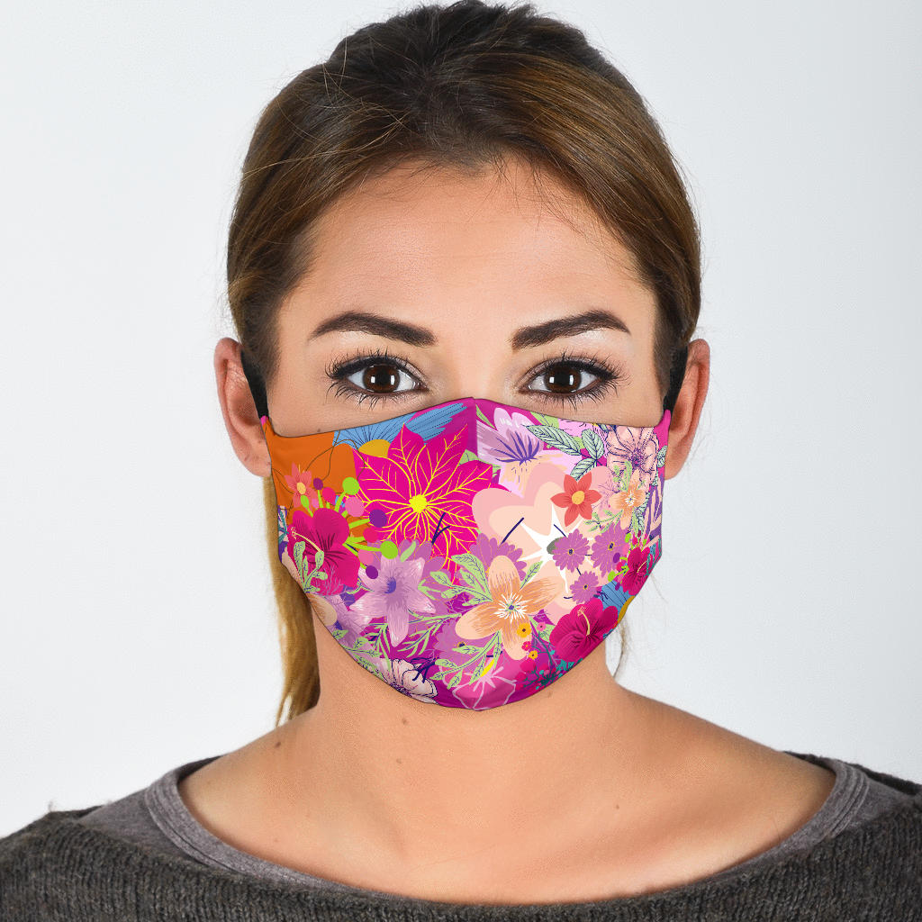 Flower bouquet Face Mask