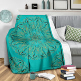 Mandala P1 (Tiffany Girl) - Throw Blankets