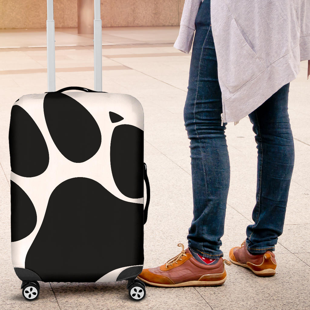 Paws off luggage cover
