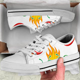 Flaming hot Canvas shoes(low top)