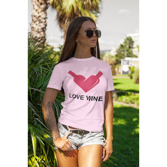 Love Wine Unisex T-shirts