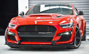 15-17 FORD MUSTANG GT500 STYLE FRONT BUMPER CONVERSION