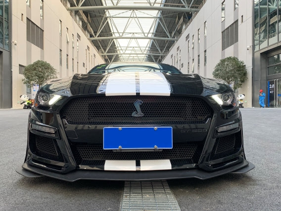 18-19 FORD MUSTANG GT500 STYLE FRONT BUMPER CONVERSION