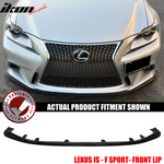 Fits 14-16 Lexus IS F Sport JDM Front Bumper Lip Splitter - PU