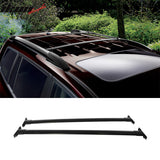 Fits 08-13 Toyota Highlander OE Factory Style Roof Rack Cross Bar Blac