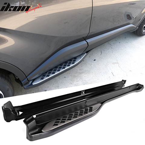 Fits 17-19 Toyota CH-R OE Style Running Boards Side Step Bars Unpainte