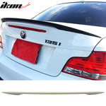 Fits 07-13 BMW 1-Series E82 Coupe Performance Rear Trunk Spoiler Wing
