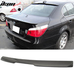 Fits 04-10 BMW 5 Series E60 M5 A Style Painted Matte Black Roof Spoile