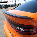 Matte Black! Fits 13-16 Dodge Dart OE Factory Style Trunk Spoiler ABS