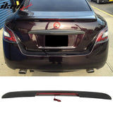 Fits 09-15 Nissan Maxima A35 4Dr Sedan OE Factory Trunk Spoiler & LED