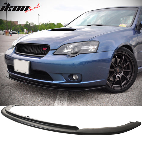 Fits 05-07 Subaru Legacy GT JDM Bumper Only Front Lip Spoiler - PU