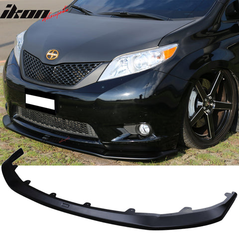 Fits 11-15 Toyota Sienna LE Model Only Front Bumper Lip - ABS