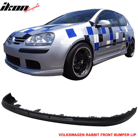 06-09 VW Golf 5 MK5 Rabbit V-Style Front Bumper Lip PU