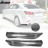 IKON MOTORSPORTS | Rear Apron Compatible With 2006-2013 Lexus IS250 IS