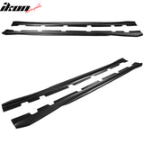 Fits 11-20 Dodge Charger Side Skirts Extension Matte Black Left Right