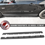 Fits 10-14 Mustang V6 V8 GT Bottom Line Side Skirts Splitter PP