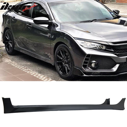 Special Deal! Fits 16-20 Civic Sedan HF-P Style Side Skirts Pair Black