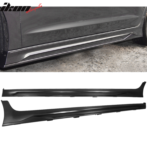 Fits 17-18 Hyundai Elantra SPW Side Skirts Extension PP