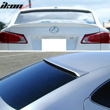 Fits 06-13 IS250 OE Factory Trunk Spoiler & Roof Wing Painted #1G1 Tun