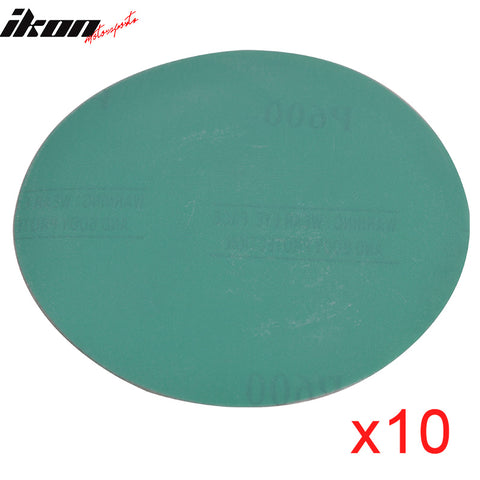 Wet Dry 5in No Hole Sand Paper Disc 600 Grit Auto Sandpaper 100 PC