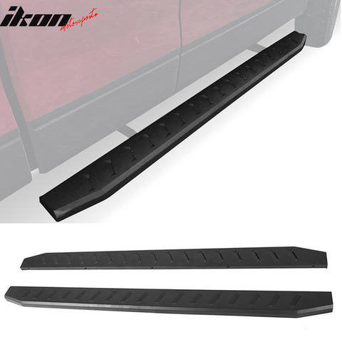 Fits 10-18 Dodge Ram Quad Cab Side Step Rails Nerf Bars Running Boards